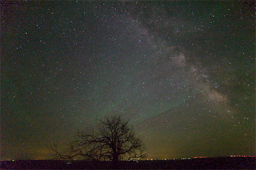 Milky Way From the Flint Hills